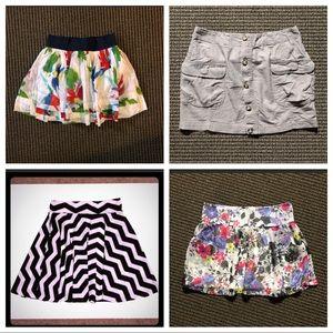 Dresses & Skirts - Bundle 4 skirts